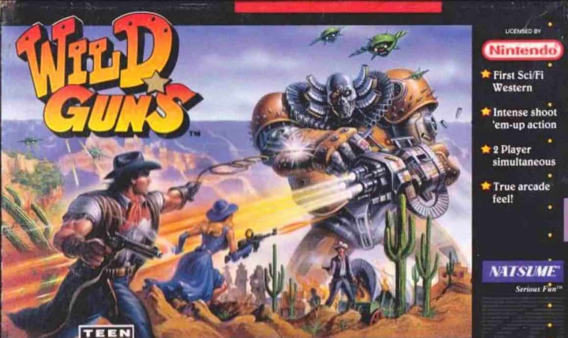 Rare SNES games - Wild Guns