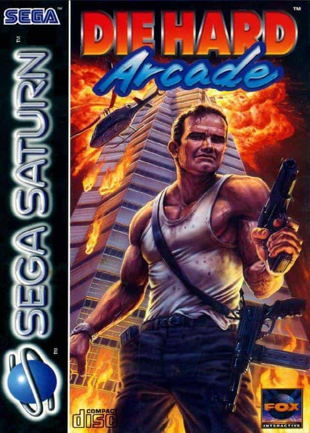 Best Sega Saturn Games - Die Hard Arcade