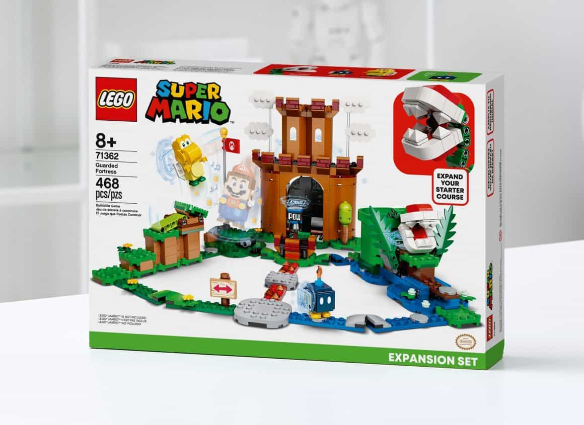 lego super mario guarded fortress