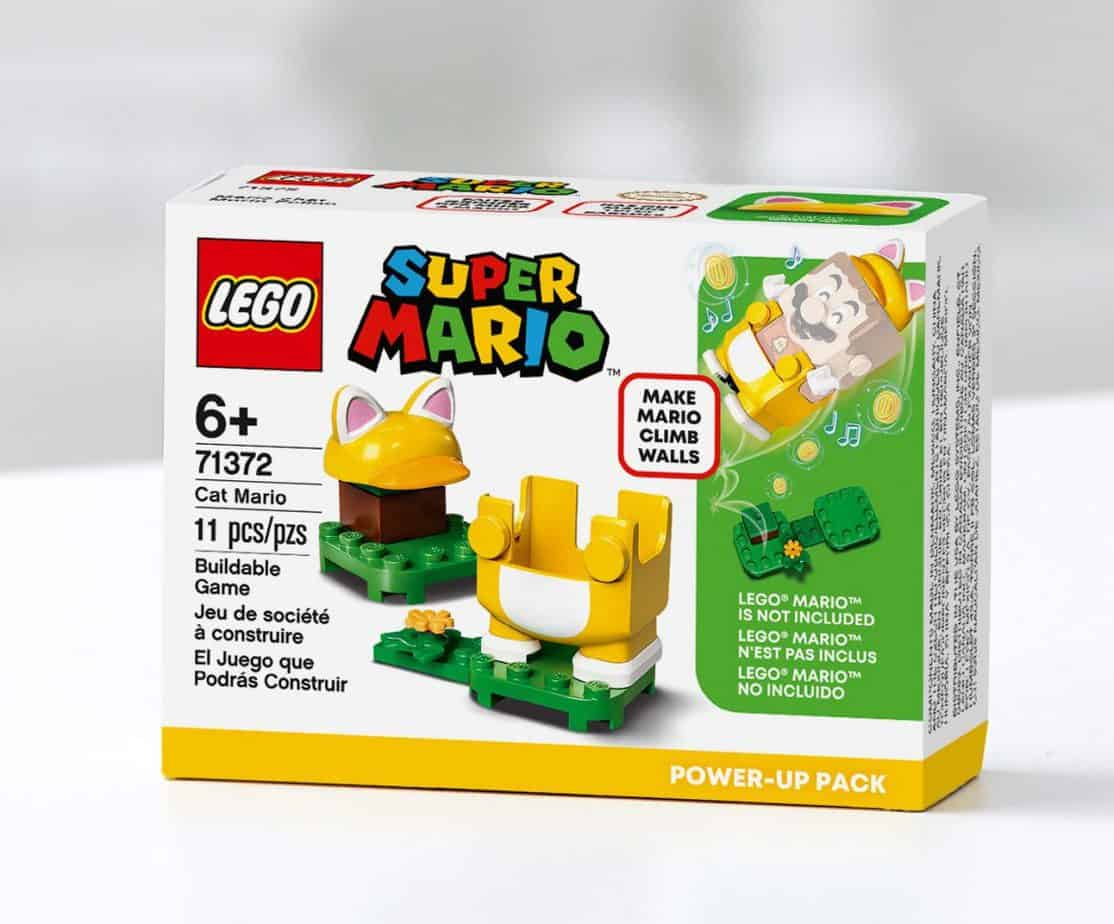 lego super mario cat