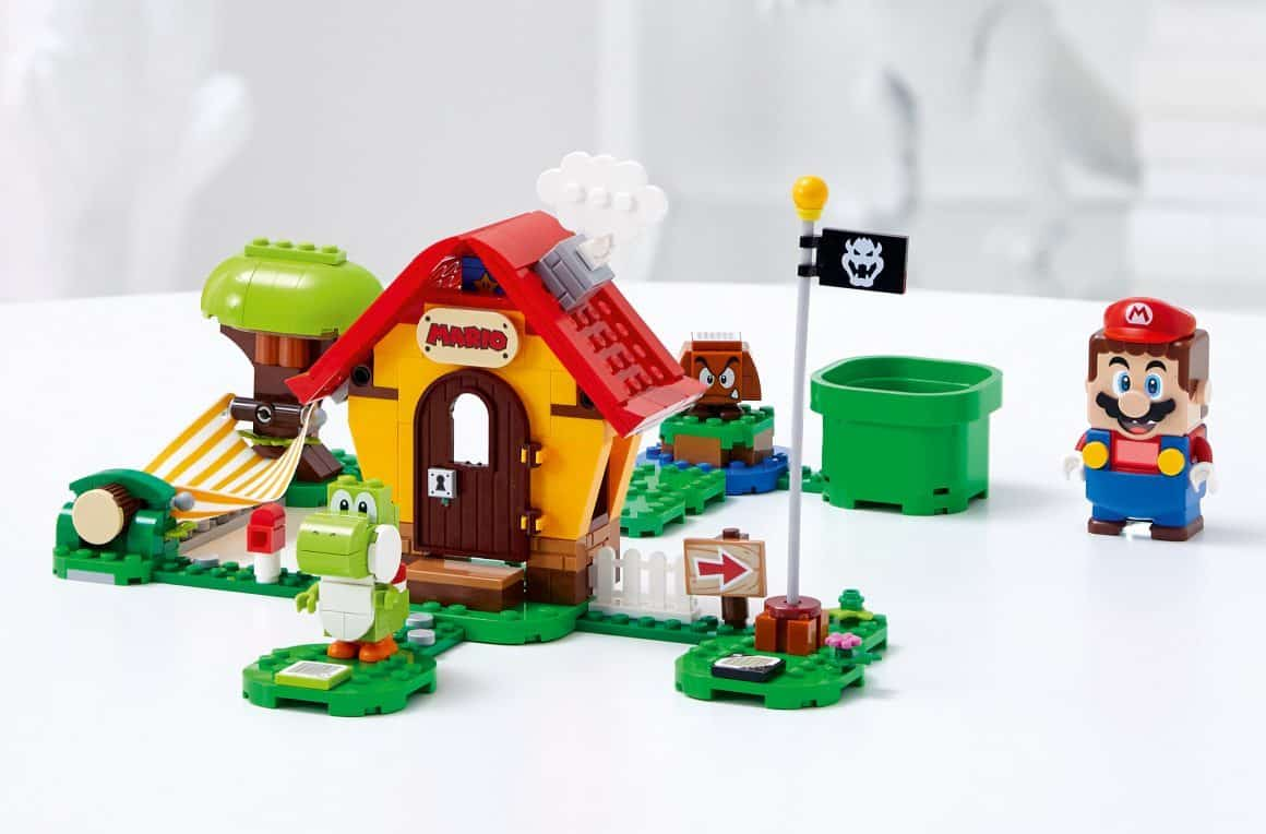 lego super mario's house