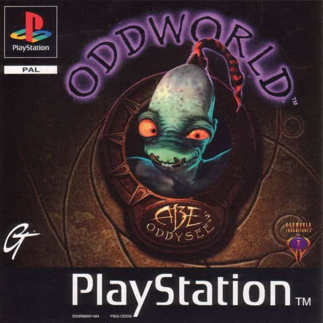 Best Ps1 Games - Abe's Oddysee
