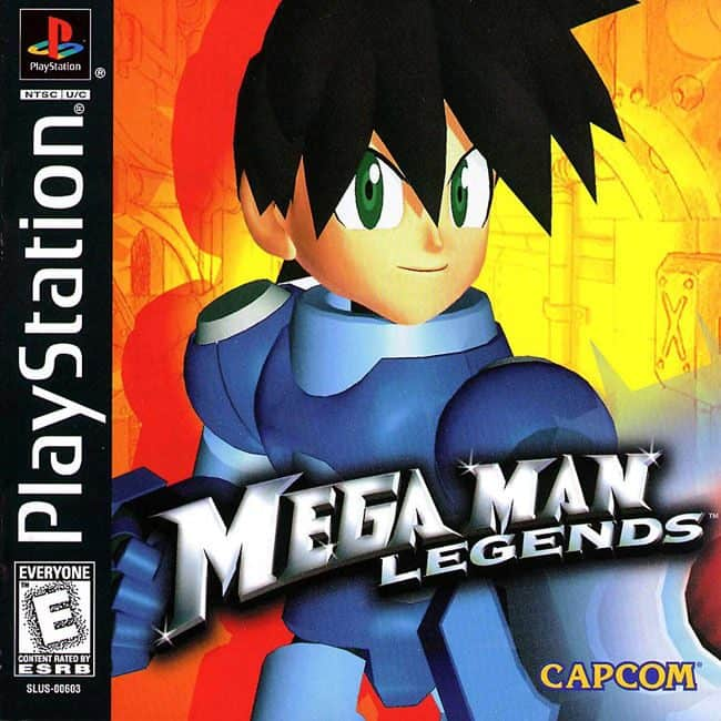 Best Ps1 Games - Mega Man Legends