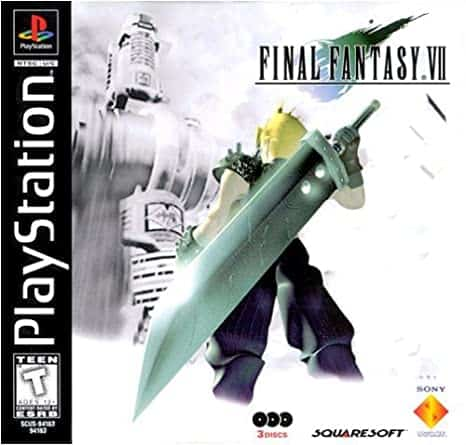 Best Ps1 Games - Final Fantasy VII