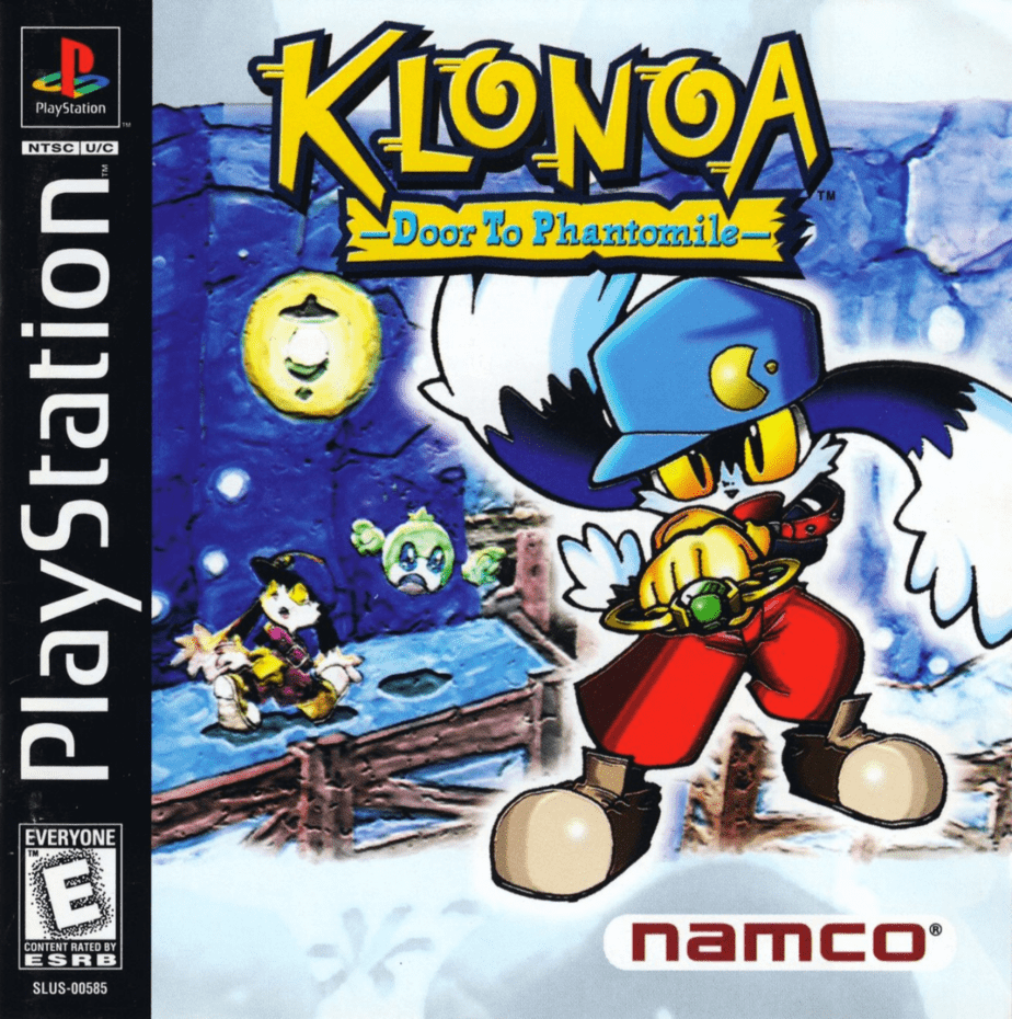 Best Ps1 Games - Klonoa Door to Phantomile
