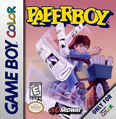 Best Gameboy Games - Paperboy