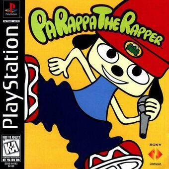 Best Ps1 Games - Parappa The Rapper