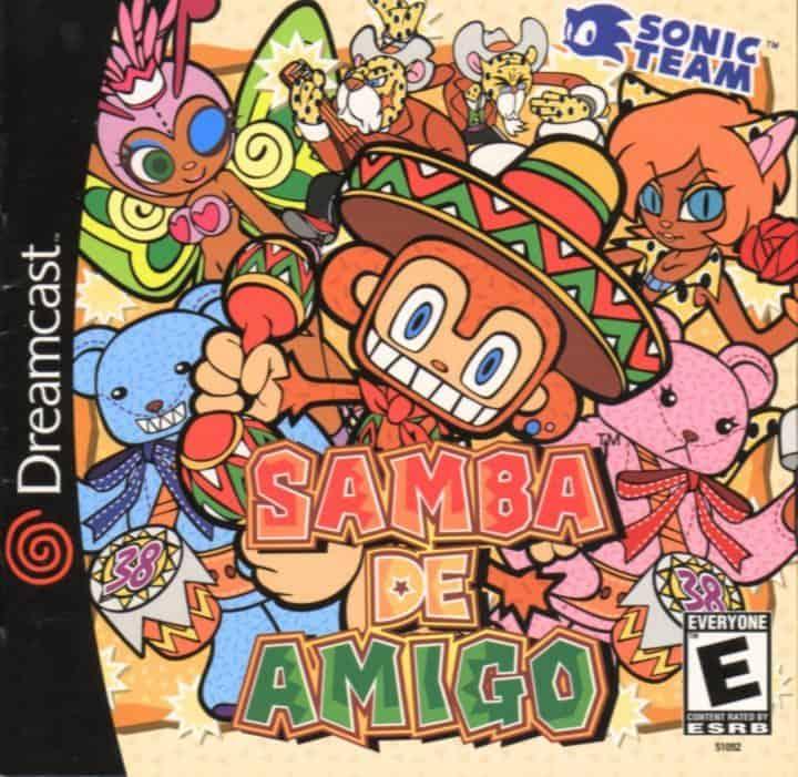 Best Dreamcast games - Samba de Amigo