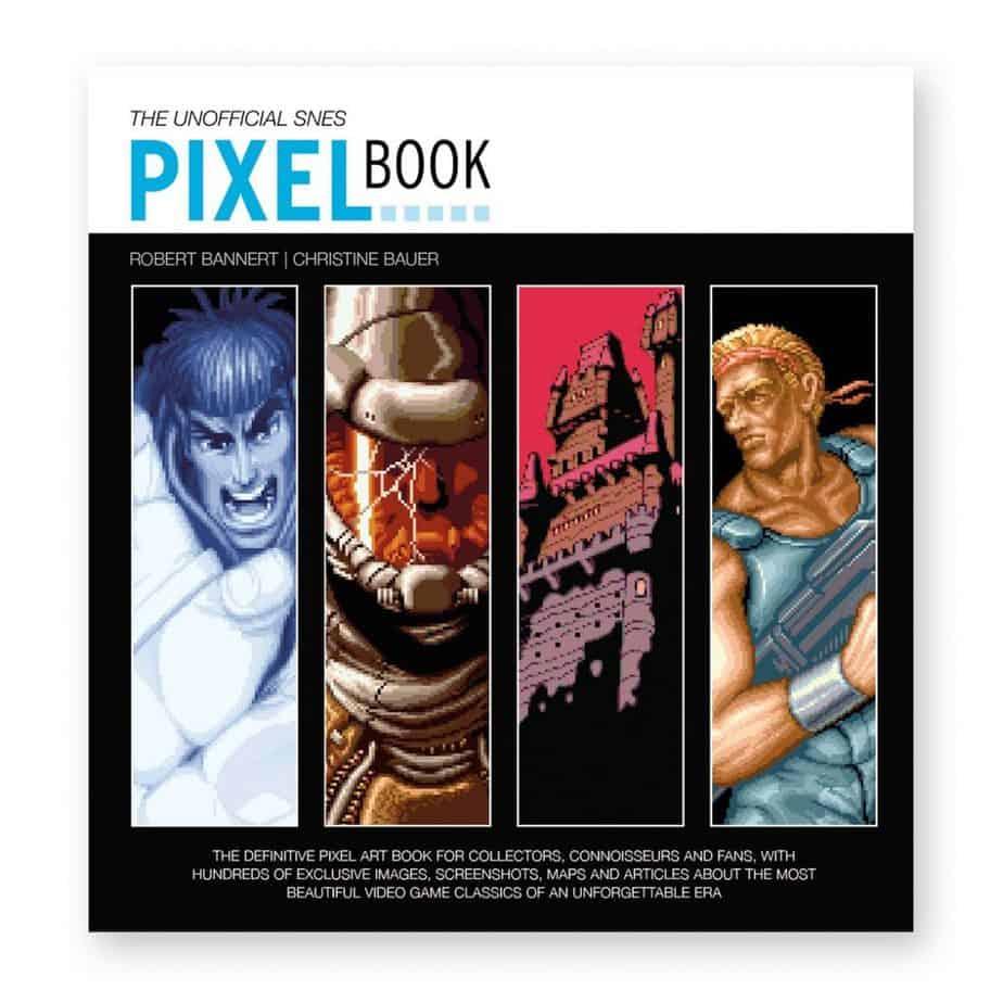 Retro Gaming Books - SNES Pixel Book
