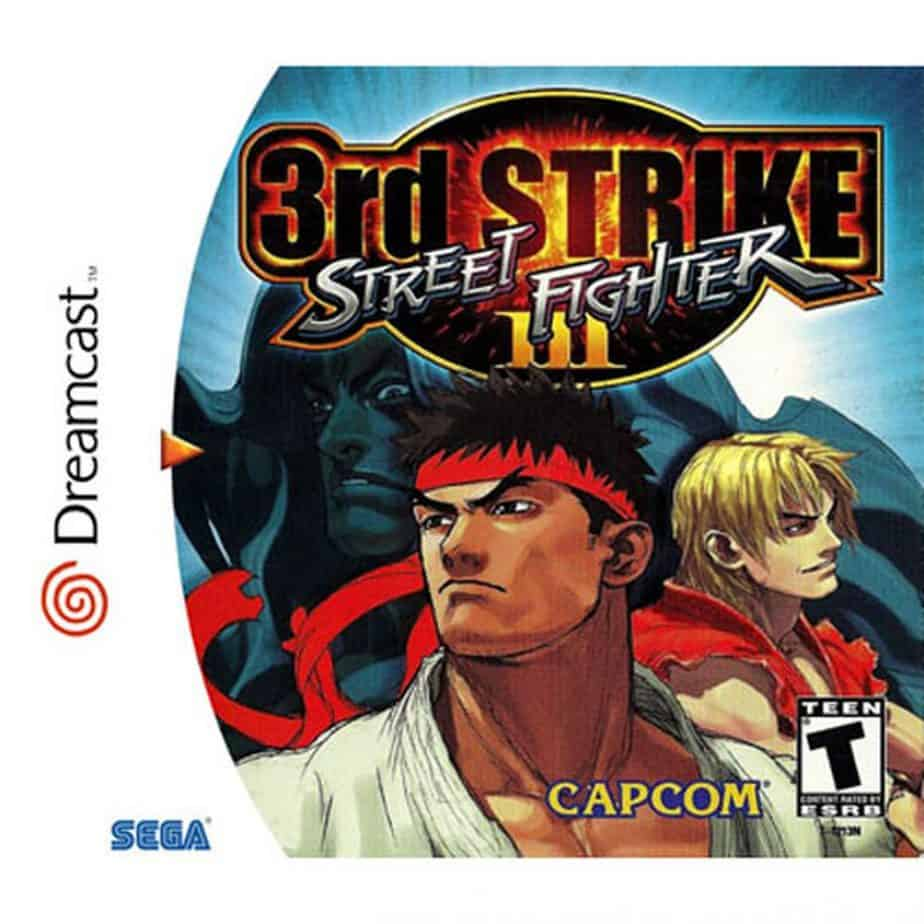 Best Dreamcast games - Street Fighter 3 Third Strike