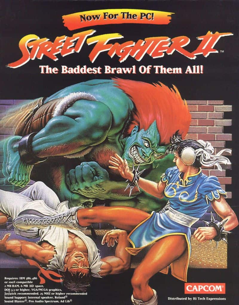 Best Mame Games - Street Fighter 2