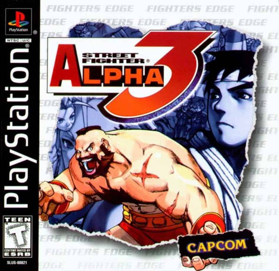 Best Ps1 Games - Street Fighter Alpha