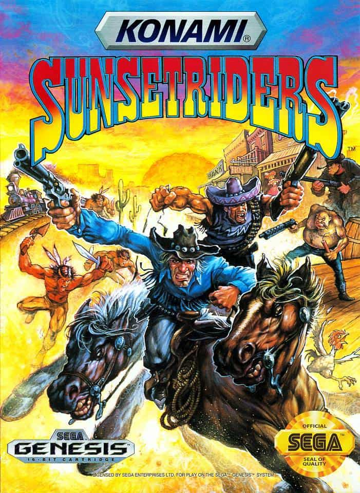 Best Mame Games - Sunset Riders