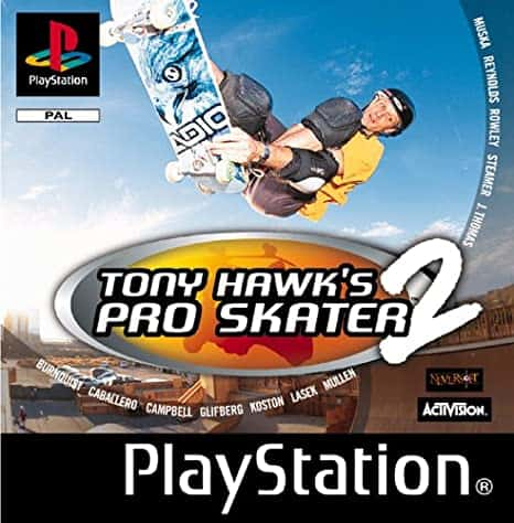 Best Ps1 Games - Tony Hawks Pro Skater