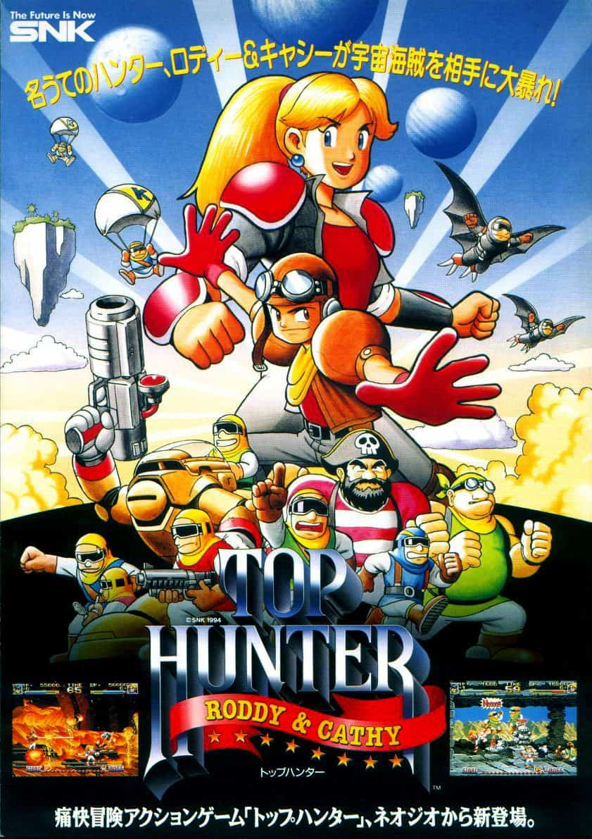 best neo geo games - Top Hunter