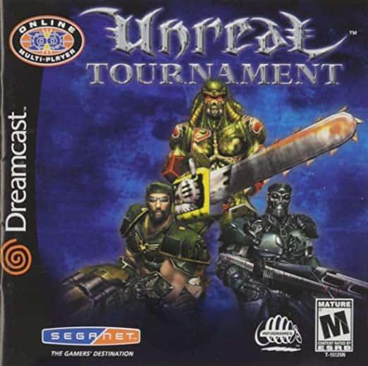 Best 90s Games - Unreal Tournament Dreamcast