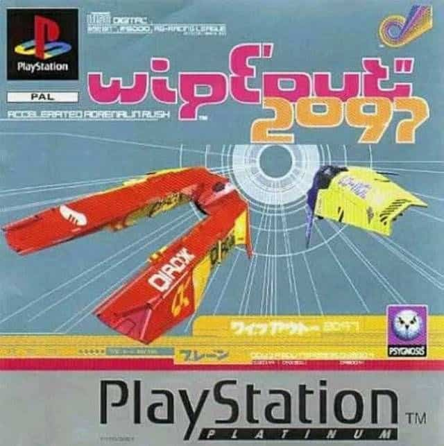 Best Ps1 Games - Wipeout