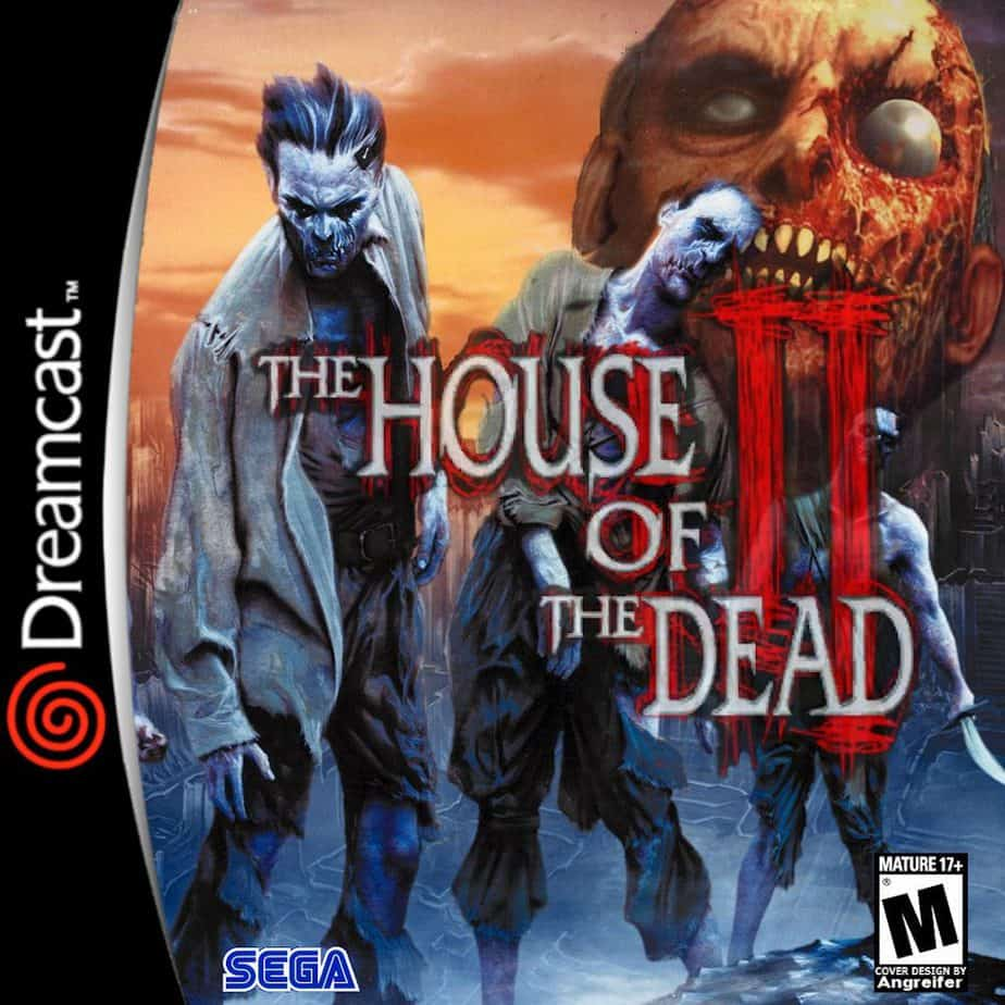 Best Dreamcast Games - The House Of The Dead 2