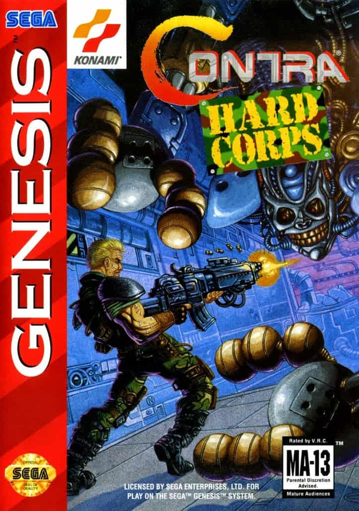 Best Sega Genesis Games - Contra Hard Cops