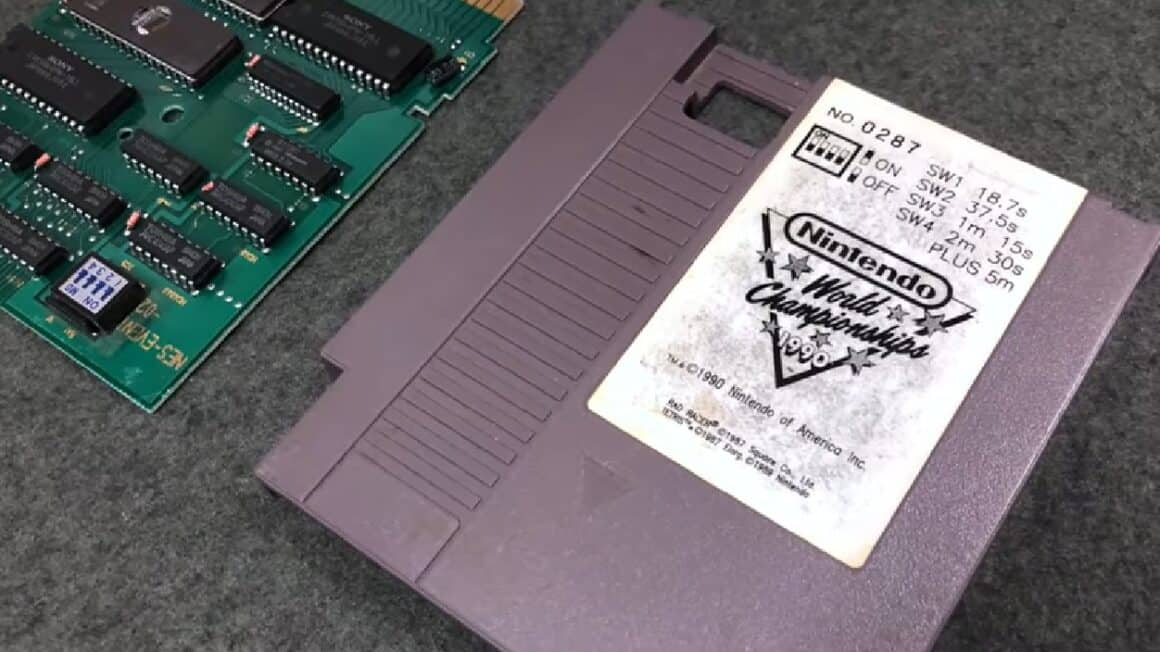 Rare NES Games - Grey World Championship Cart