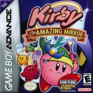 best GameBoy Advance games - Kirby and the amazing mirror