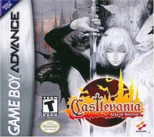 best GameBoy Advance games - Castlevania Aria Of sorrow