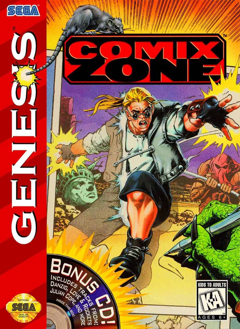 Best Sega Genesis Games - Comix Zone