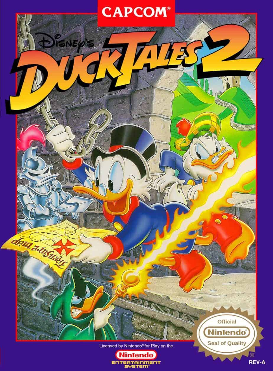 Rare NES Games - Duck Tales 2
