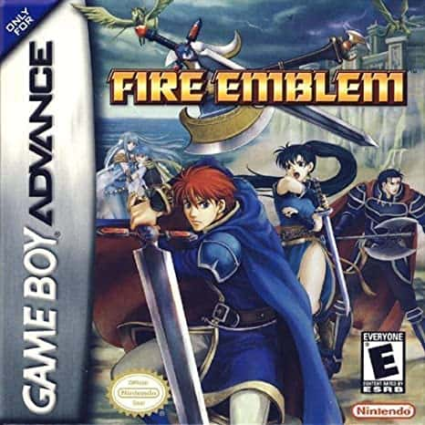 Best GBA Games - Fire Emblem Game Case