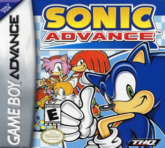 best GameBoy Advance games - Sonic Advance