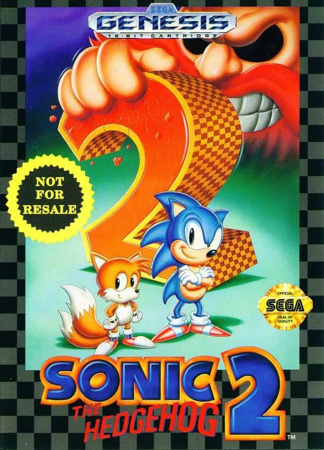 Best Sega Genesis Games - Sonic the Hedgehog 2