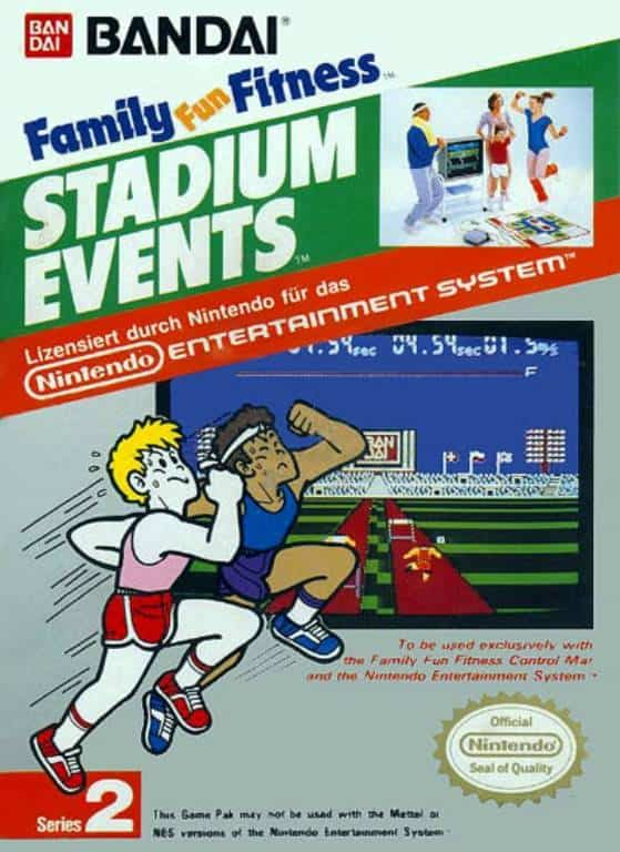 Rare NES Games - Stadium Events