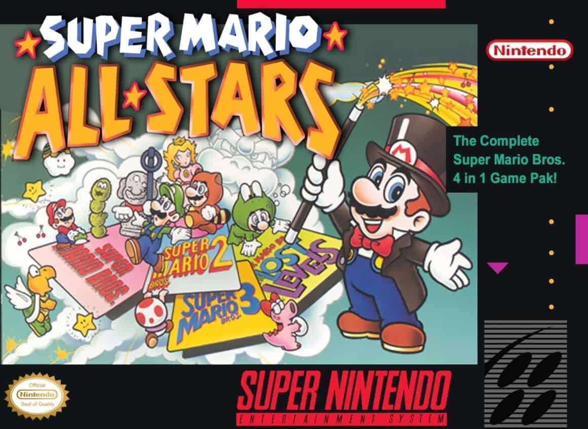 Best Mario Games - Super Mario Allstars