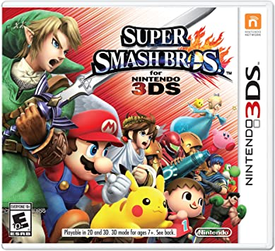 best Nintendo 3DS games - Super Smash Bros.