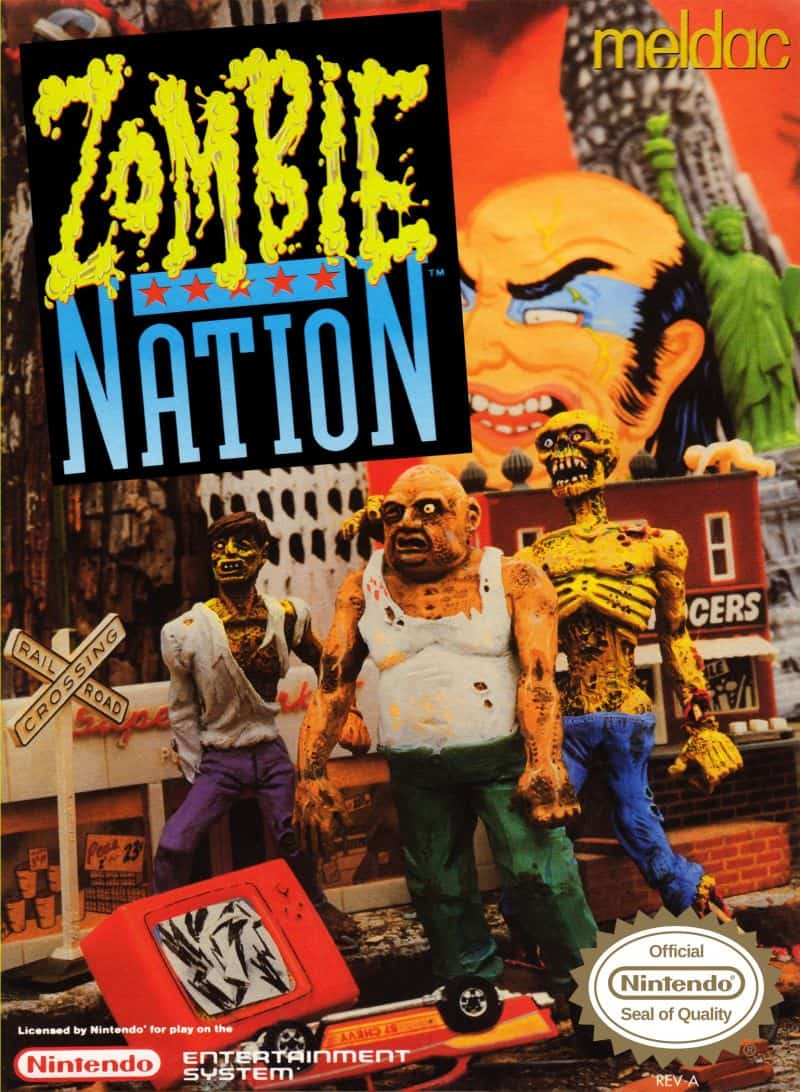 Rare NES Games - Zombie Nation