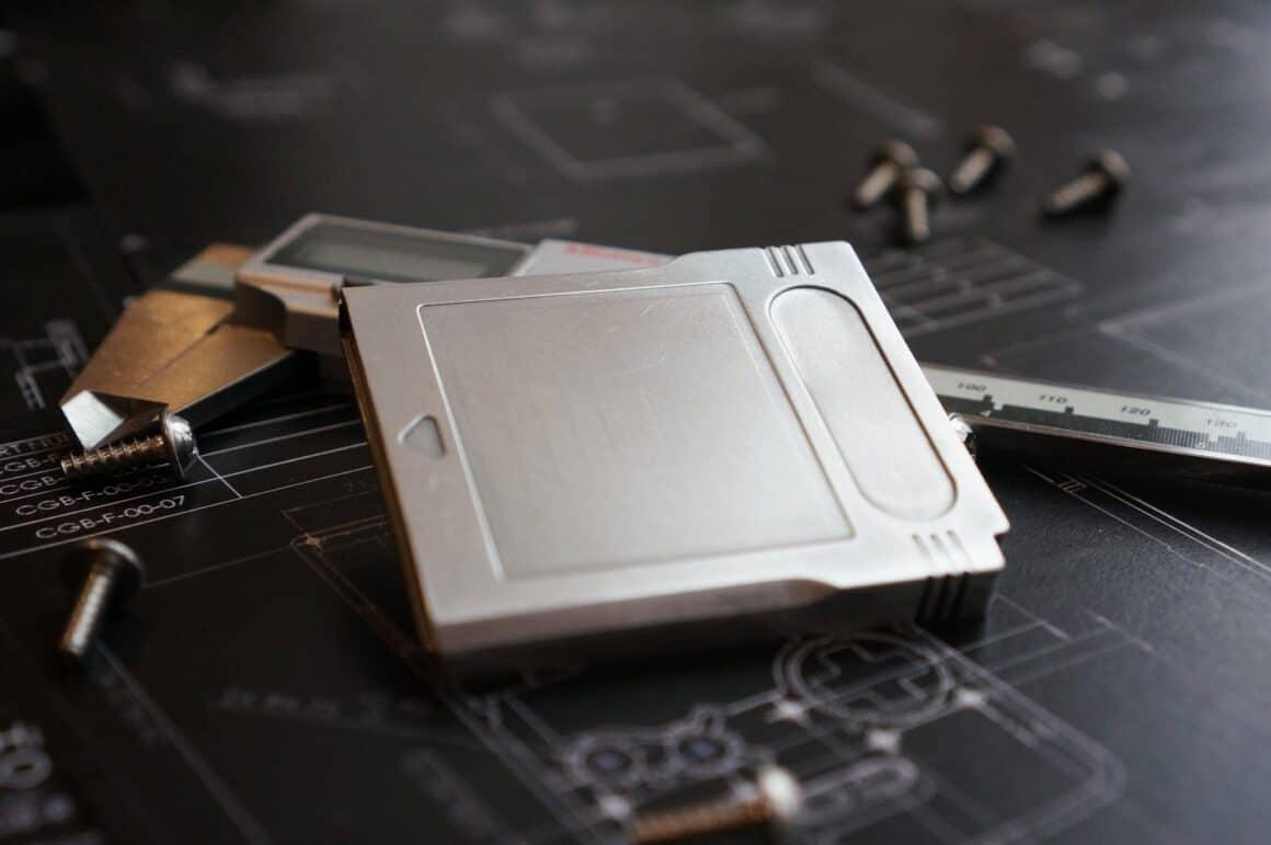 metal gameboy cartridge