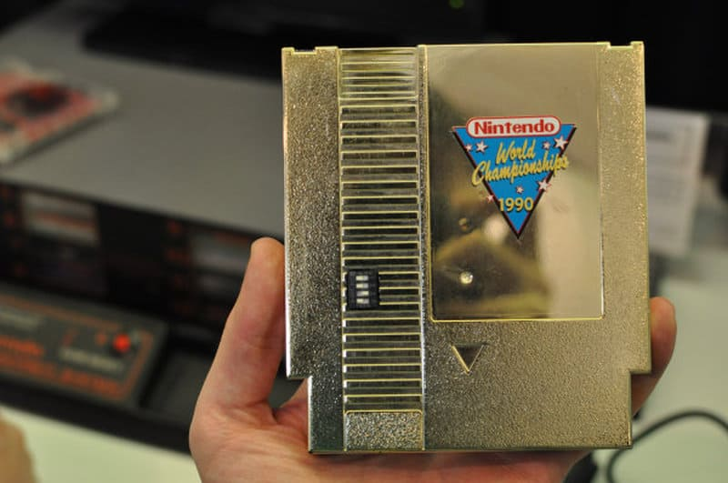 Rare NES Games - Gold World Championship Cart