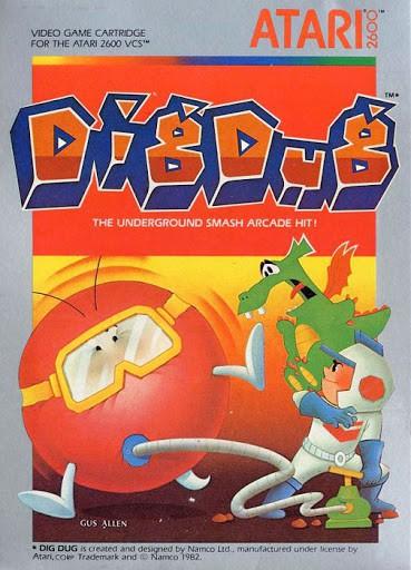 Best Atari 2600 games - Dig-Dug