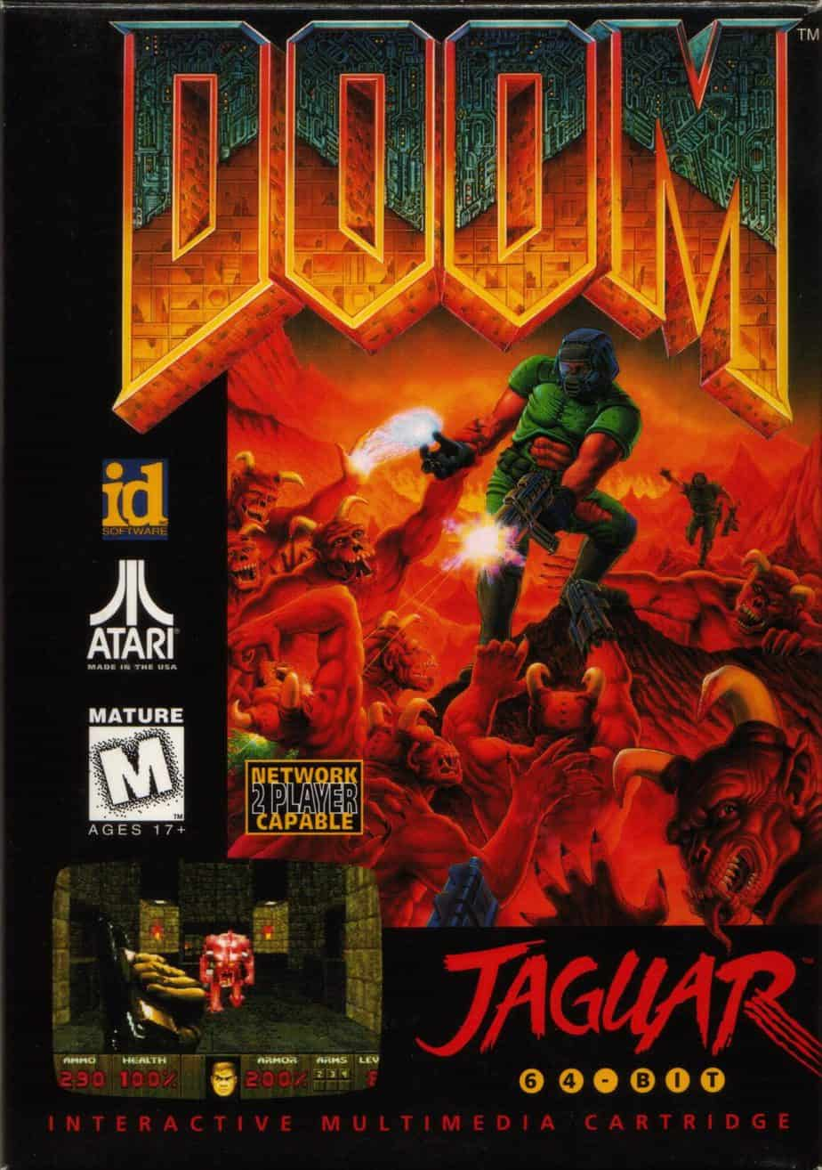 Best Atari Jaguar Games - Doom
