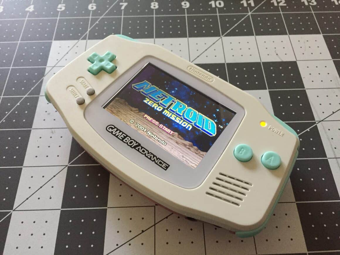 Modded Gameboy Advance