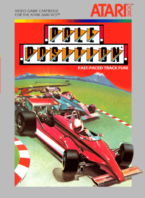 Best Atari 2600 games - Pole Position