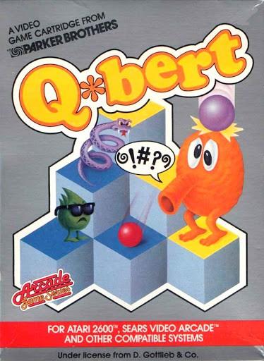 Best Atari 2600 games - Q*bert