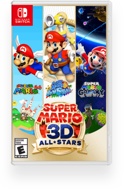 Super Mario 64 part of new Mario All Stars Game on Nintendo Switch