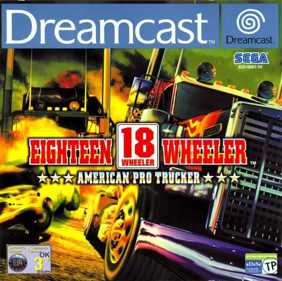 Best Dreamcast Games - 18 Wheeler: American Pro Trucker