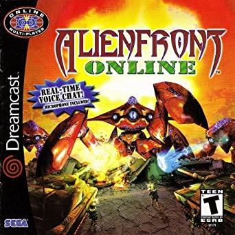 Best Dreamcast Games - Alien Front Online