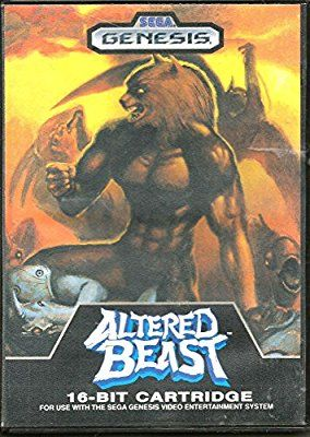 Best Sega Genesis Games - Altered Beast