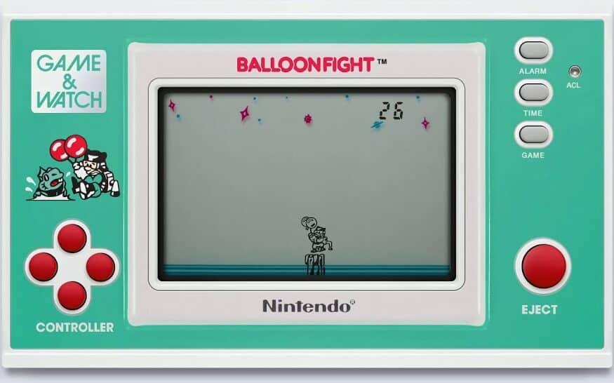 Best Game & Watch games - Balloon fight