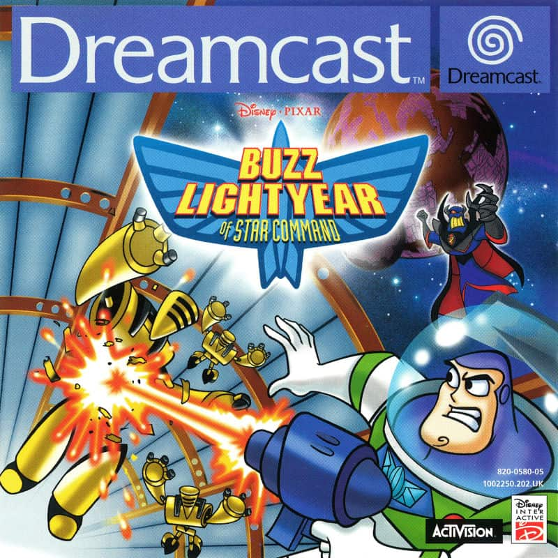 best Dreamcast games - Buzz lightyear of Star Command
