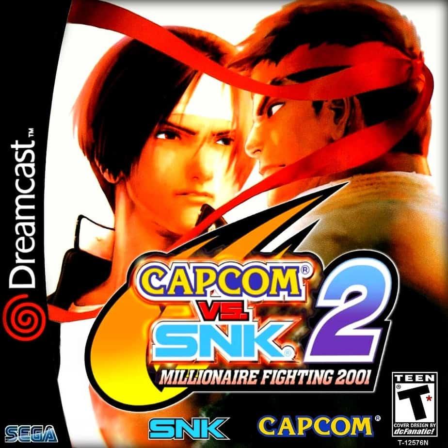 Best Dreamcast Games - Capcom VS SNK 2