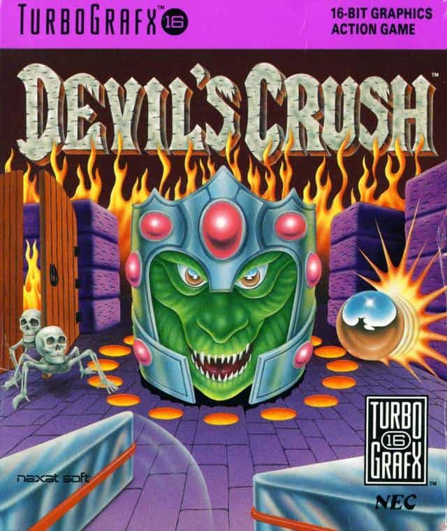 Best PC Engine games - devil's crush